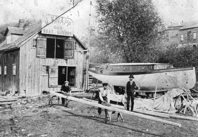 Knapp B B Shop c 1907
